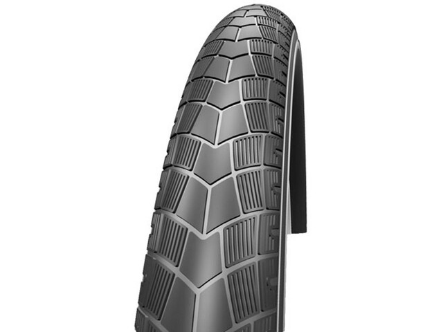 "Impac BigPac Wired-on Tire 16"" black"
